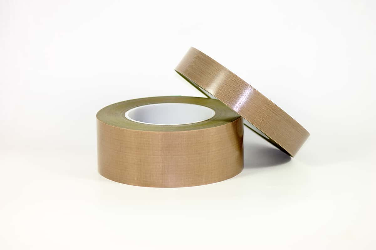 PTFE Coated Fiberglass Tape with Liner
