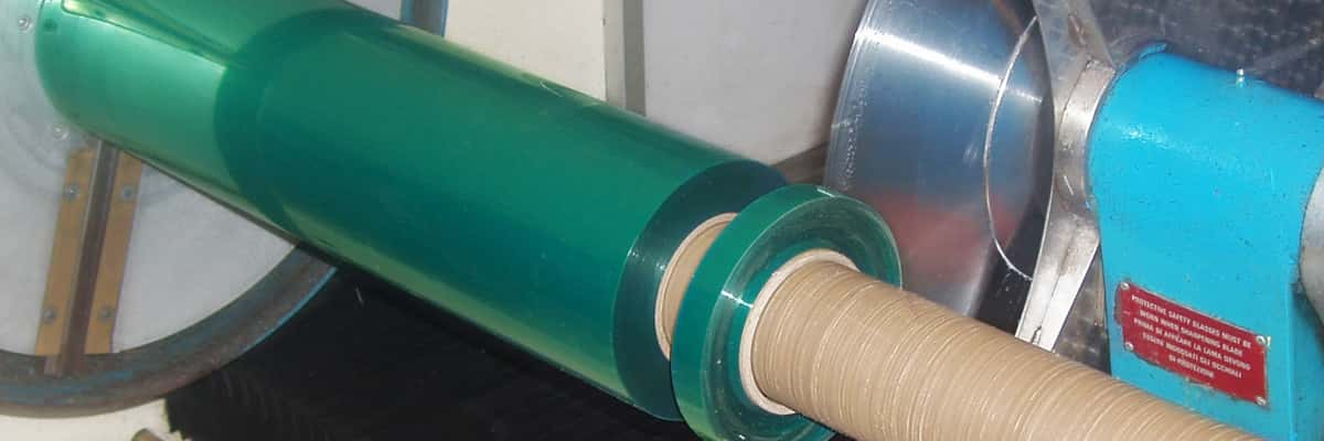 Green polyester tape custom widths