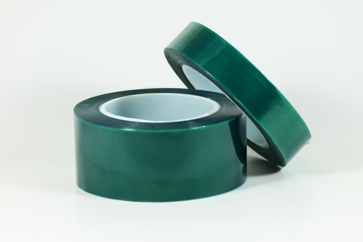 Green anodizing tape