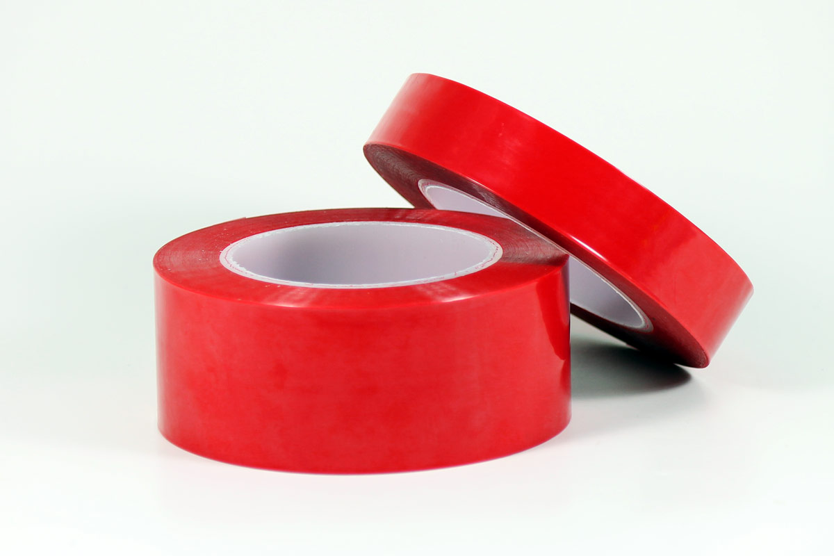 VRPT Red Polyester Plating Tape