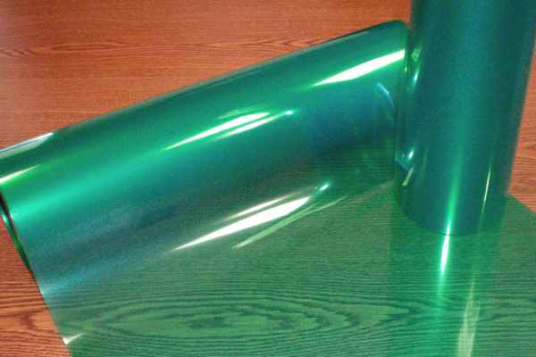 Lined Green Polyester Tape