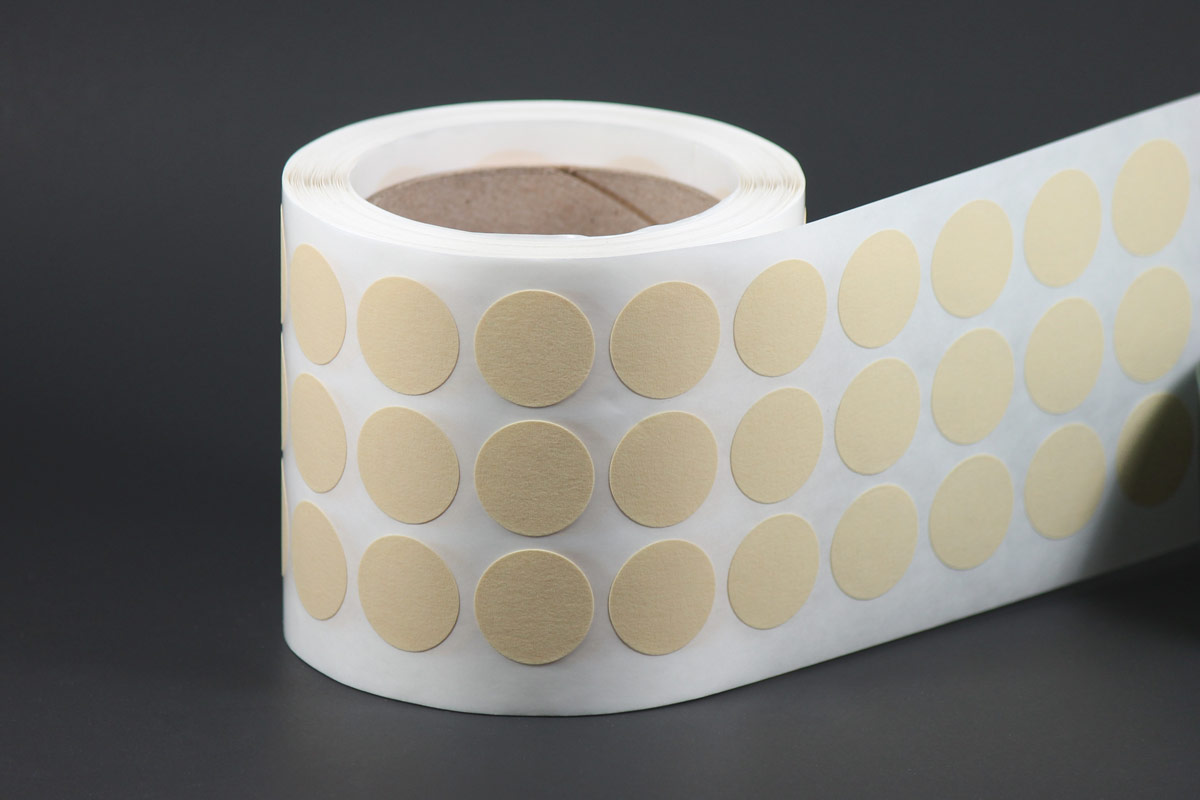 VHTCD High Temperature Crepe Tape Disks
